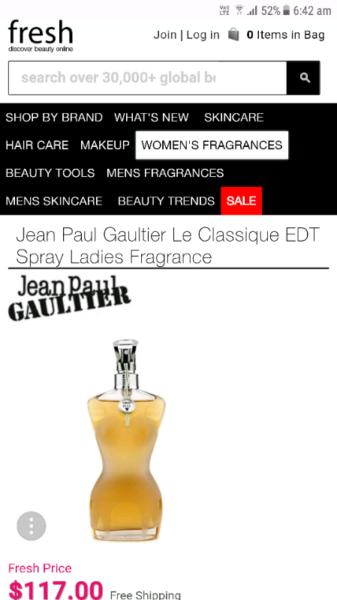 Jean Paul Gaultier Le Classique Edt 50ml Accessories Gumtree