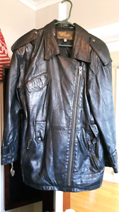 GoldGroup leather jacket