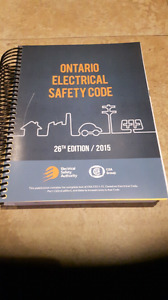 Ontarios electrical code book never opened $150