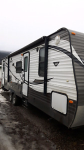 2014 28 ft hideout travel trailer