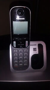 2 Cordless Panasonic home phones London Ontario image 1