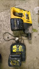 DeWalt DW005 cordless SDS combination hammer drill