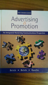 Advertising and promotion, first Canadian edition