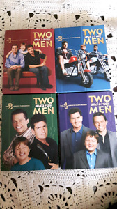 Two and a half men dvds - seasons 1 to 4
