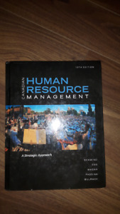 Human resources management book