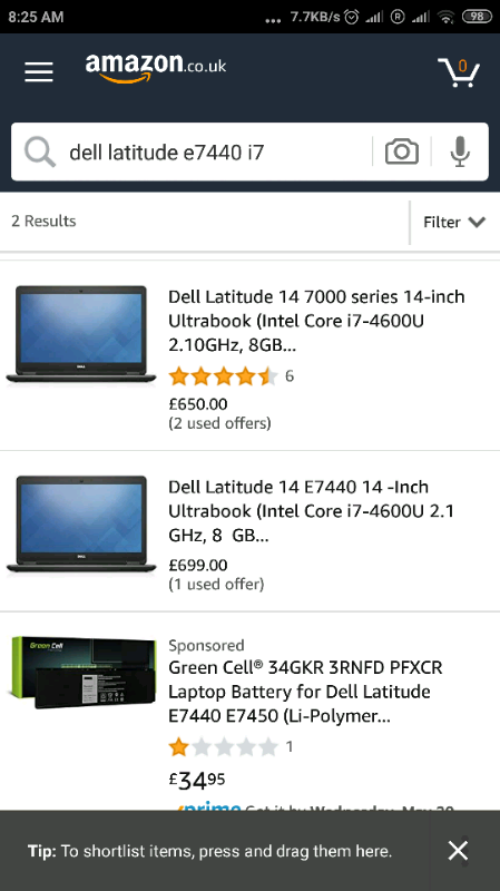 Dell Latitude E7440 for sale or swap for gaming laptop   in East End Park,  West Yorkshire   Gumtree