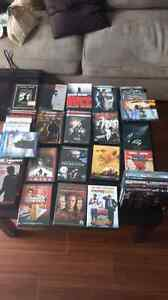 Lot de 36 dvd et 2 bluray