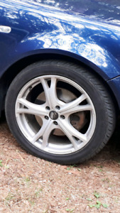 SSW 17 INCH rims and tires
