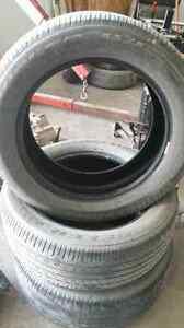 3 tires 245/55/19 Bridgestone Dueler