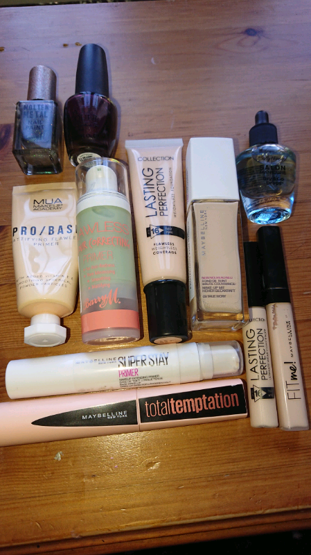 cee5a19794e make up bundle maybelline collection barry m + | in Salisbury ...
