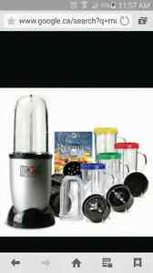 Hardly used magic bullet