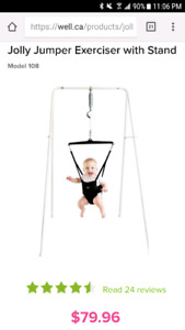 Looking for jolly jumper with stand