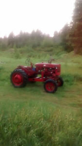 Tracteur farmall 1952 super A