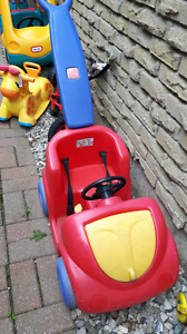 Toddler push car