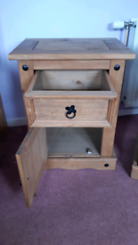 2x Puerto Rico bedside tables