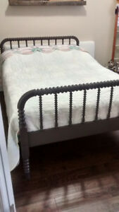 Antique Double Jenny Lind Bed