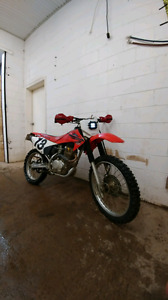 2007 Crf 230f trades or sale