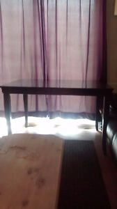 Antique Wood Dining Room Table