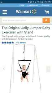 Jolly jumper with stand Kitchener / Waterloo Kitchener Area image 1
