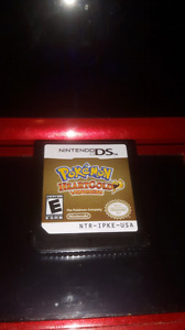 Pokémon heart gold cart only up for trade