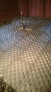 Insulation for heated floor
