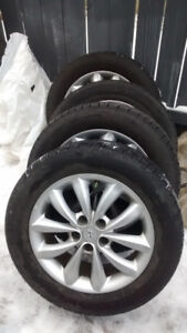 """17"""" sport rims and BF Goodrich tires"""
