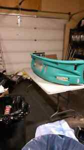 2003 mitsabishi eclipse front bumper never used