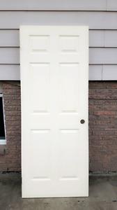 """White door 80"""" by 32"""""""