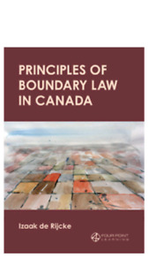 PRINCIPLES OF BOUNDARY LAW IN CANADA