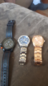 3 very nice mens watches