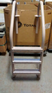 Set of 1 Pool Stairs and 1 Pool Rail