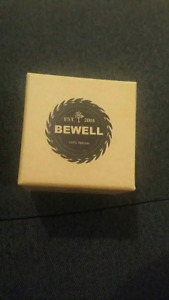Bewell Coffee Colour Watch