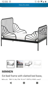 Ikea expandable toddler bed
