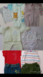 6M to 12M baby girl clothing lot