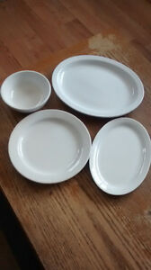 RESTAURANT QUAILITY DISHES PRICE REDUCED