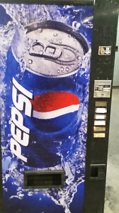 Machine distributrice pepsi