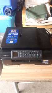 Brother printer 4 in 1 Wireless all inks are full