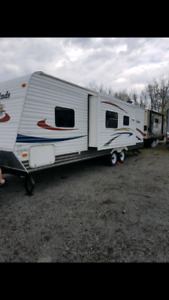 29' four winns travel trailer ready to camp!