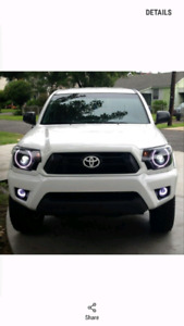 05-11 Toyota Tacoma Oracle color shift halos with controller
