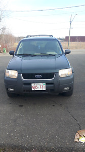 2003 ford escape works great new mvi