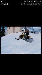 Skidoo mxz 800r PART OUT