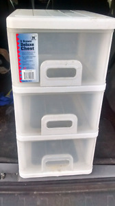 3 ..drawer deluxe chest