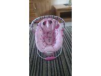 Mini mouse bouncy chair.