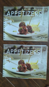 Pampered Chef Appetizers Recipe Book