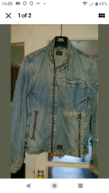 G Star Denim Daytona Jacket Large
