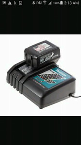 Makita charger wirh 3 amp battery