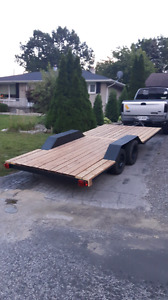 16 foot by 7 foot flatbed