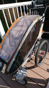 Chariot CX-1 stroller and accessories