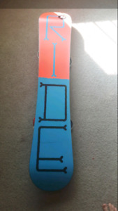 Ride snowboard and ride bindings! Price REDUCED!!