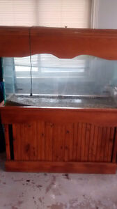 80 Gallon Fish Tank w/ Stand and Accessories